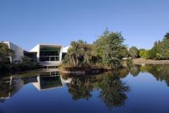Knighton Lake, University of Waikato.